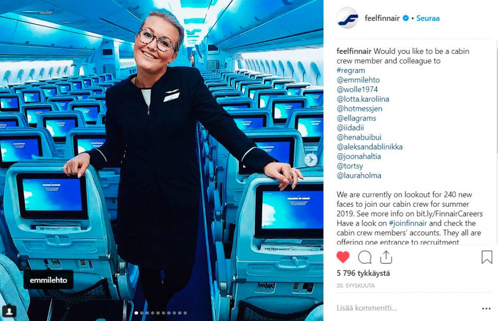 Finnair Instagram